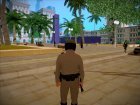 Michael De Santa - San Andreas Highway Patrol Uniform (GTA 5) for GTA San Andreas rear-left view