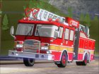 E-One Quint Rearmount SACFD Ladder 49 for GTA San Andreas right view