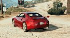 Nissan 350z for GTA 5 left view
