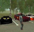 Пак машин, скинов, оружия и т.д из GTA 5 for GTA San Andreas top view