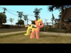 Lily (My Little Pony) для GTA San Andreas вид сзади слева
