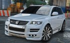 Volkswagen Touareg R50 2008 for GTA 5 top view