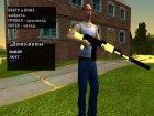 Пак золотого оружия для GTA San Andreas