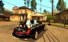Maybach 57S for GTA San Andreas top view