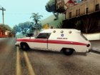 Old Ambulance for GTA San Andreas left view