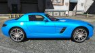 2011 Mercedes-Benz SLS AMG Electric Drive 1.0 для GTA 5 вид сверху