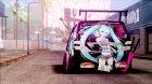 Toyota Vellfire - Miku Hatsune Itasha for GTA San Andreas left view