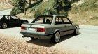 BMW 1983 E30 M-Tech 1 BETA для GTA 5 вид сзади слева