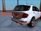 2009 Mercedes-Benz ML 63 AMG v2.0 для GTA San Andreas вид сзади слева
