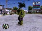 Hulk Avengers Age of Ultron для GTA San Andreas вид изнутри