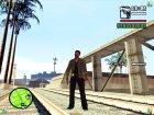 Тобиас Джонс для GTA San Andreas вид слева