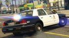 1998 Ford Crown Victoria P71 - LAPD Gang Unit 1.1 for GTA 5 left view