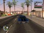 Chevrolet Chevelle для GTA San Andreas вид сверху