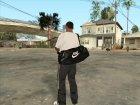 Кожаная сумка Nike для GTA San Andreas вид слева