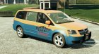 Dodge Grand Caravan Taxi 2008 1.2 for GTA 5 top view