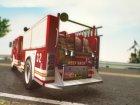 GTA V MTL Firetruck для GTA San Andreas вид сзади слева