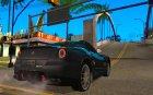 Ferrari 599 GTB Fiorano (оранжевый салон) для GTA San Andreas вид сверху