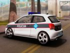 Volkswagen Polo GTI BIH Police Car for GTA San Andreas inside view
