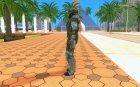 Пед из группировки Чистое Небо for GTA San Andreas left view