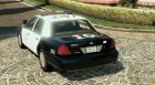 LAPD Ford CVPI Arjent 4K v3 for GTA 5 rear-left view