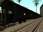 Пак реальных поездов V.1 от VONE для GTA San Andreas вид сзади