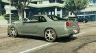Nissan R34 GTR 0.1 for GTA 5 left view