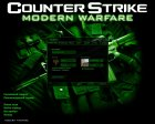 CS Modern Warfare GUI for Counter-Strike 1.6 left view