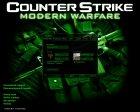 CS Modern Warfare GUI for Counter-Strike 1.6 left view
