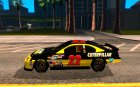 Dodge Nascar Caterpillar для GTA San Andreas вид слева