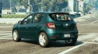 Dacia Sandero 2014 для GTA 5 вид слева