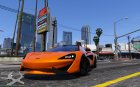 2015 McLaren 570 S for GTA 5 left view