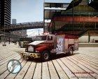 Новая пожарная машина для GTA 4 вид слева