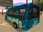 Vinewood VIP Star Tour Bus из GTA V для GTA San Andreas вид сзади слева