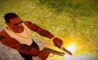 Beretta (Max Payne) для GTA San Andreas вид сзади слева