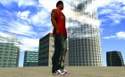Blue Nike Air Force для GTA San Andreas вид сверху