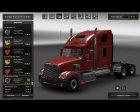 Freightliner Coronado для Euro Truck Simulator 2 вид справа