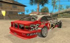 BMW M3 E46 Rally for GTA San Andreas rear-left view