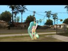 Celestia (My Little Pony) for GTA San Andreas rear-left view