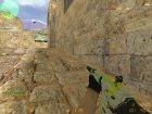 """Пак оружия с раскраской """"Азимов"""" для Counter-Strike 1.6 вид слева"""