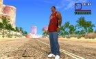 Деревянная Лопаточка for GTA San Andreas top view