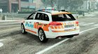 Vauxhall Insigna Swiss - GE Police for GTA 5 rear-left view