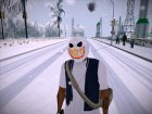 Mask of Snowman (GTA Online) для GTA San Andreas вид слева