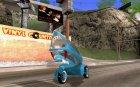Concept car для GTA San Andreas вид сверху