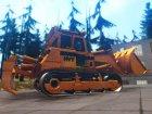 HVY Bulldozer GTA V Next Gen для GTA San Andreas вид сверху