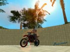 Honda CR125R '01 для GTA Vice City вид слева