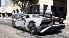 Lamborghini Aventador LP750-4 SV для GTA 5 вид слева