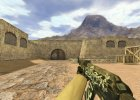 AK-47 Wasteland Rebel for Counter-Strike 1.6 rear-left view