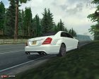 Mercedes Benz S65 AMG 2012 для Mafia: The City of Lost Heaven вид сзади слева