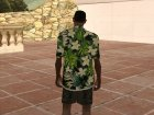 Гавайская рубашка for GTA San Andreas left view