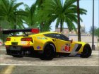 Chevrolet Corvette C7R GTE 2014 (Paintjobs Part 1) для GTA San Andreas вид сверху